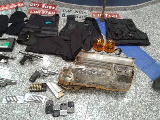 Presos suspeitos de participar do assassinato ao soldado Valério