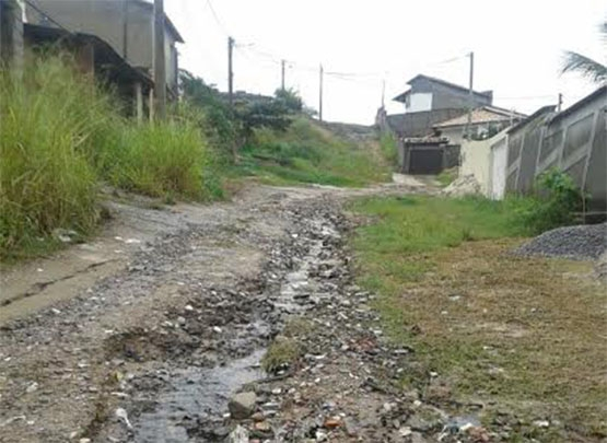 Ruas Tainhas e Dourados, no Balneário do Vinhateiro, serão beneficiadas apenas em 2015