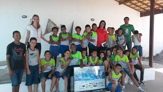 Secretaria do Ambiente faz palestras sobre defeso nas escolas de São Pedro da Aldeia