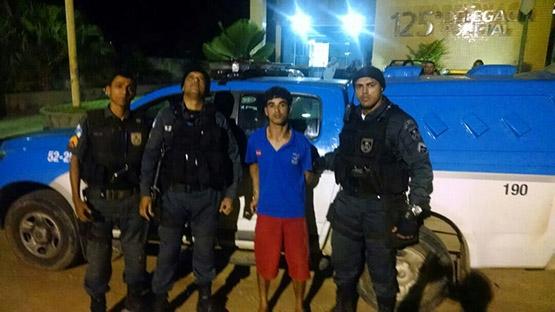Homem é preso depois de matar irmão no Alecrim, em São Pedro