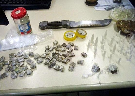 PMs apreendem cocaína e maconha no bairro Aquárius, no Segundo Distrito de Cabo Frio