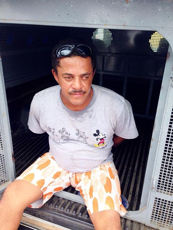 'Caolha' é detido na Boca do Mato, onde soltava rojões para avisar sobre a chegada de policiais