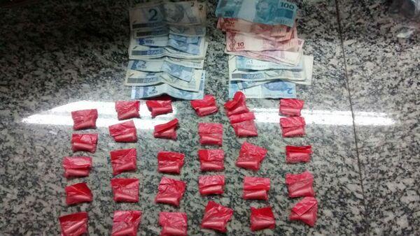 Homem é preso por tráfico de drogas em São Pedro