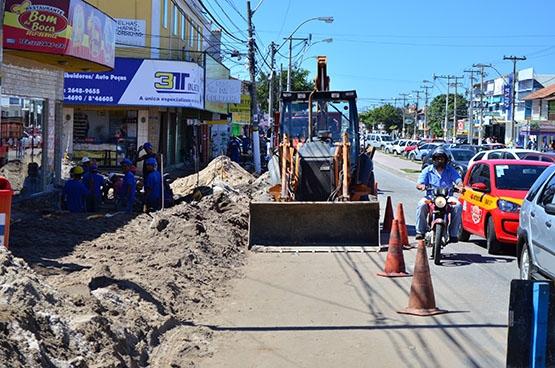 Prefeitura garante fiação da Ampla no subsolo da Joaquim Nogueira