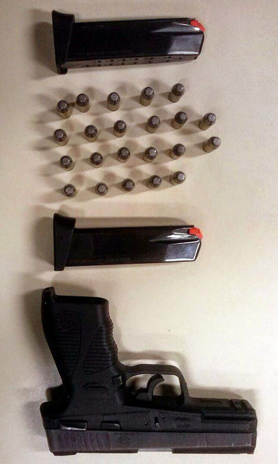 Homem é preso no Jacaré com pistola 40 milímetros municiada com 18 projéteis