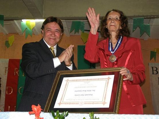 Morre Dona Arlete Castanho, fundadora do Santa Rita