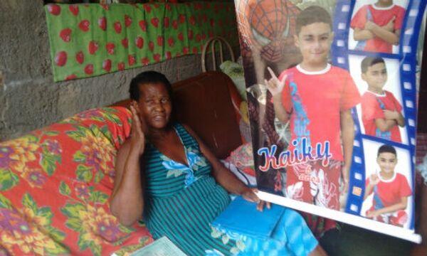 'Só não entendo por que ela fugiu', lamenta avó de Kayky