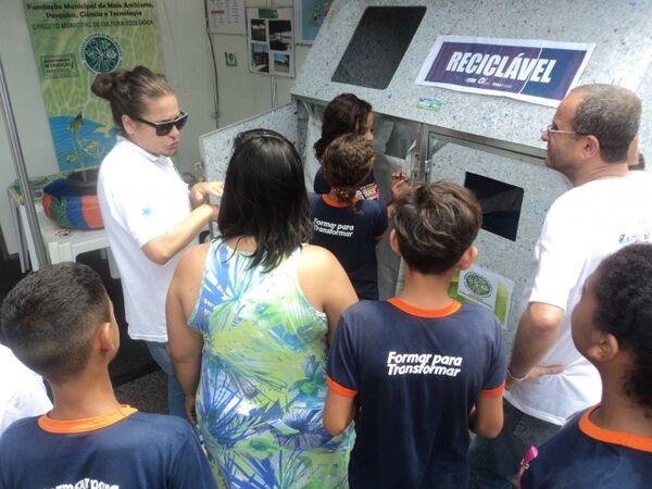 Arraial inaugura primeiro posto de entrega voluntária da Coleta Seletiva na cidade