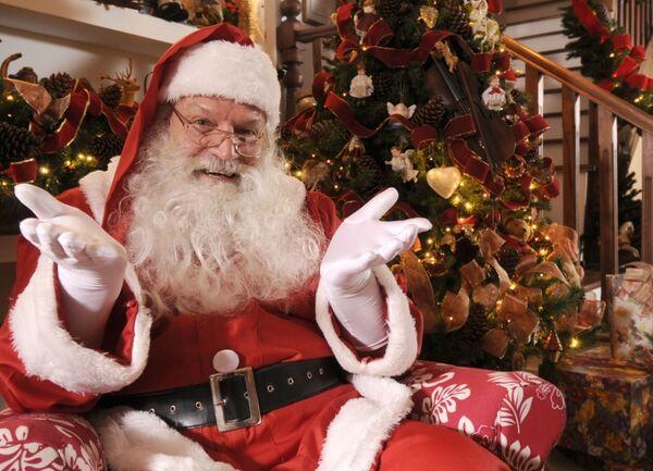Papai Noel chega ao Park Lagos