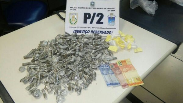 Homem é detido na Vila do Ar com 249 tabeltes de maconha