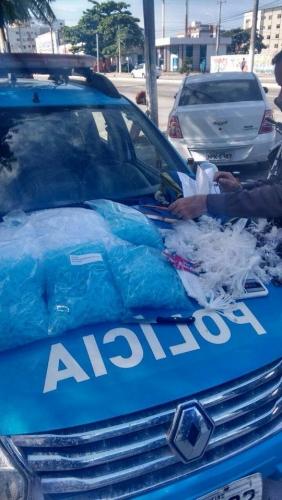 Polícia Militar desfalca tráfico de drogas no feriado