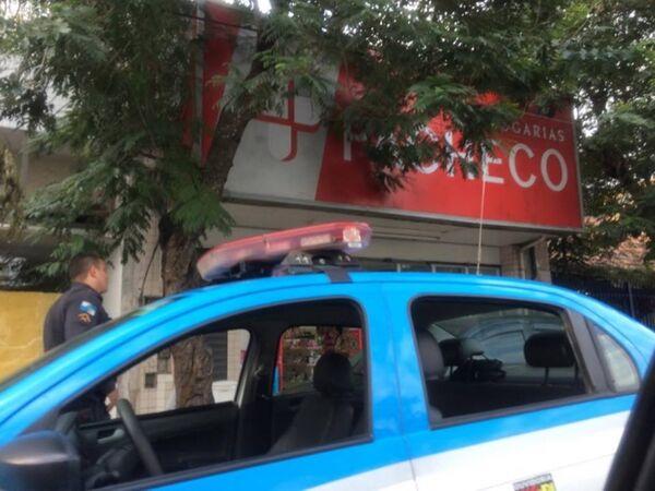 Drogaria Pacheco é assaltada no centro de Cabo Frio