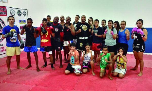 MMA chega forte com 'Jardim Combat'