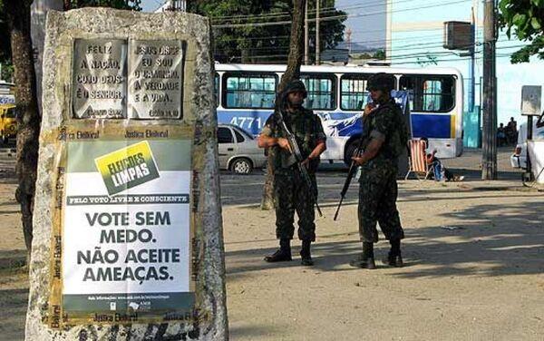 Forças Armadas reforçarão segurança nas eleições