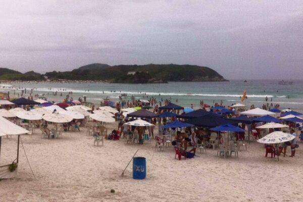 Previsão em Cabo Frio é de muita chuva para próxima semana