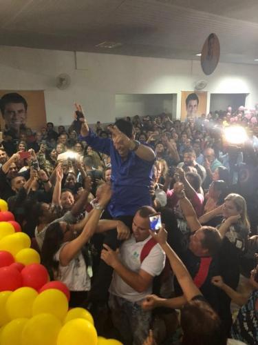 Com clube lotado, Marquinho se lança candidato