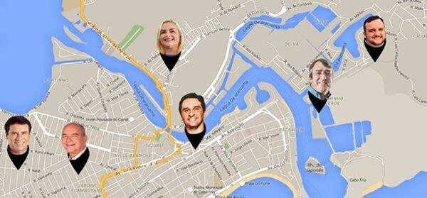 Candidatos a prefeito percorrem mais de 300 Km neste fim de semana