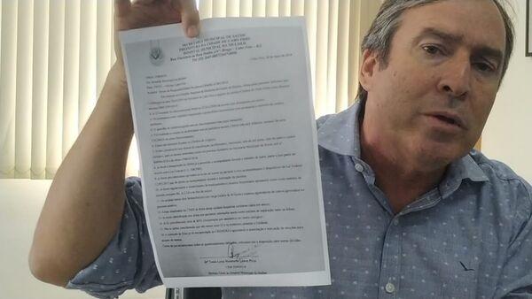 Vereador ameaça ir ao Ministério Público contra Adriano