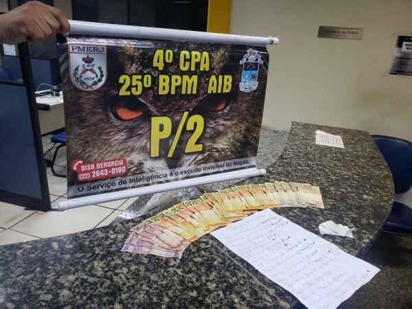 Suspeito de extorquir comerciantes é detido em Cabo Frio