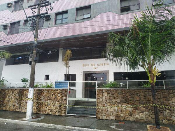 Defesa Civil interdita prédio no Braga, em Cabo Frio, por 'possível colapso estrutural'