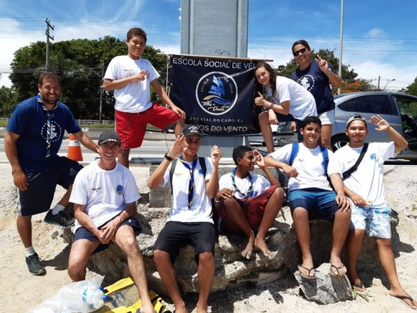 Alunos de Arraial do Cabo de destacam na Regata do Marinheiro
