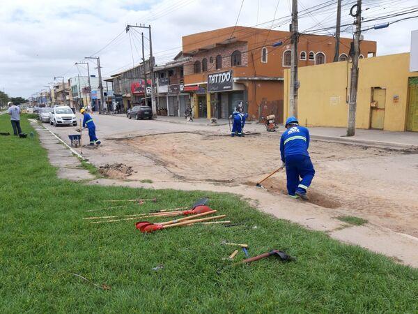 Operação tapa-buracos começa em Tamoios nesta terça-feira (3)