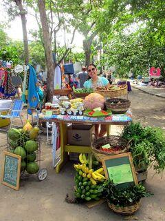 Parque da Fonte do Itajuru recebe feira 'Veg Lagos' neste domingo