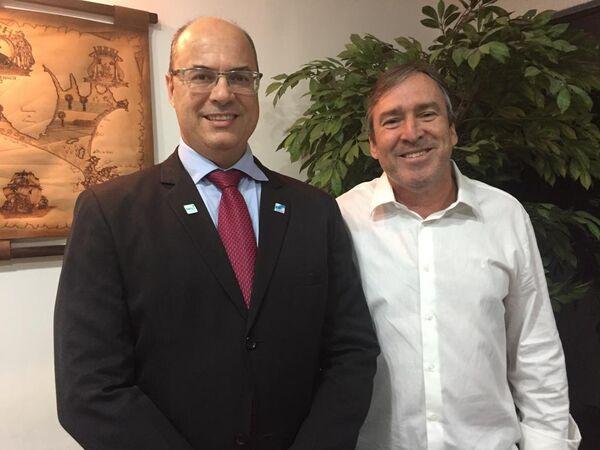 Adriano diz que relação com governador do estado é 'melhor possível'