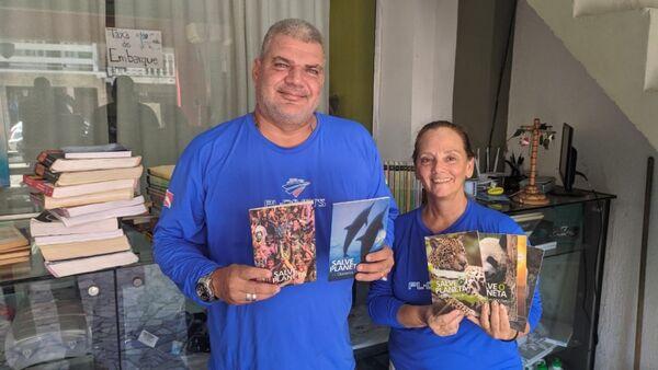 Campanha arrecada livros para criar biblioteca comunitária em Arraial do Cabo