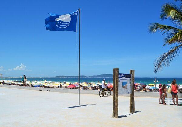 Bandeira Azul do Peró pode ficar hasteada o ano inteiro em 2021