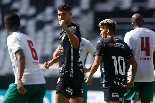 Cabofriense toma goleada do Botafogo na volta do Campeonato Carioca