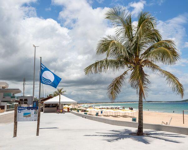 Júri nacional aprova manutenção da Bandeira Azul no Peró na temporada 2020/2021
