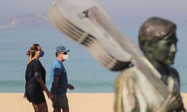 Governo do Rio vai multar em R$ 106 pessoas sem máscaras