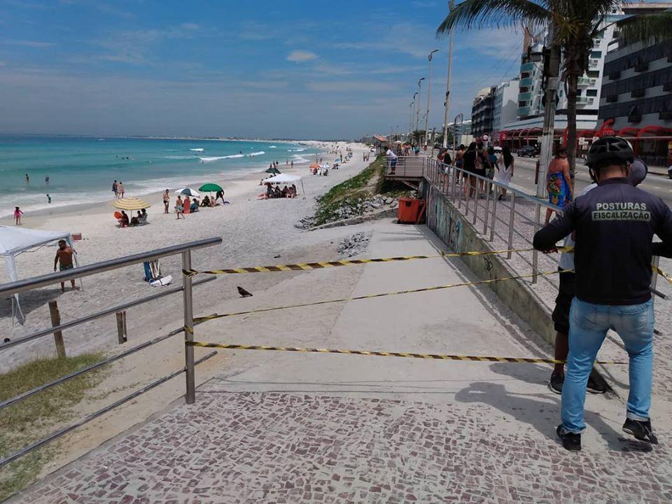 Cabo Frio proíbe permanência nas praias e praças pelos próximos 15 ...